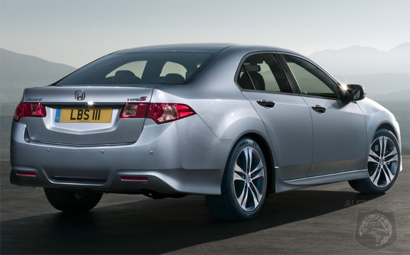 2012 Honda Accord First Official Image And Detail